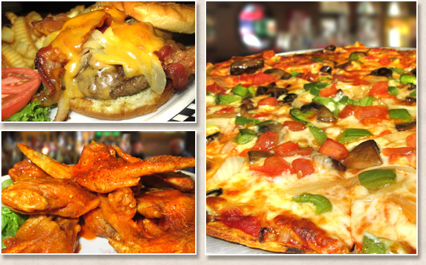 Assortment of delicious food from Pap's Ultimate Bar and Grill restaurant in Mt. Prospect